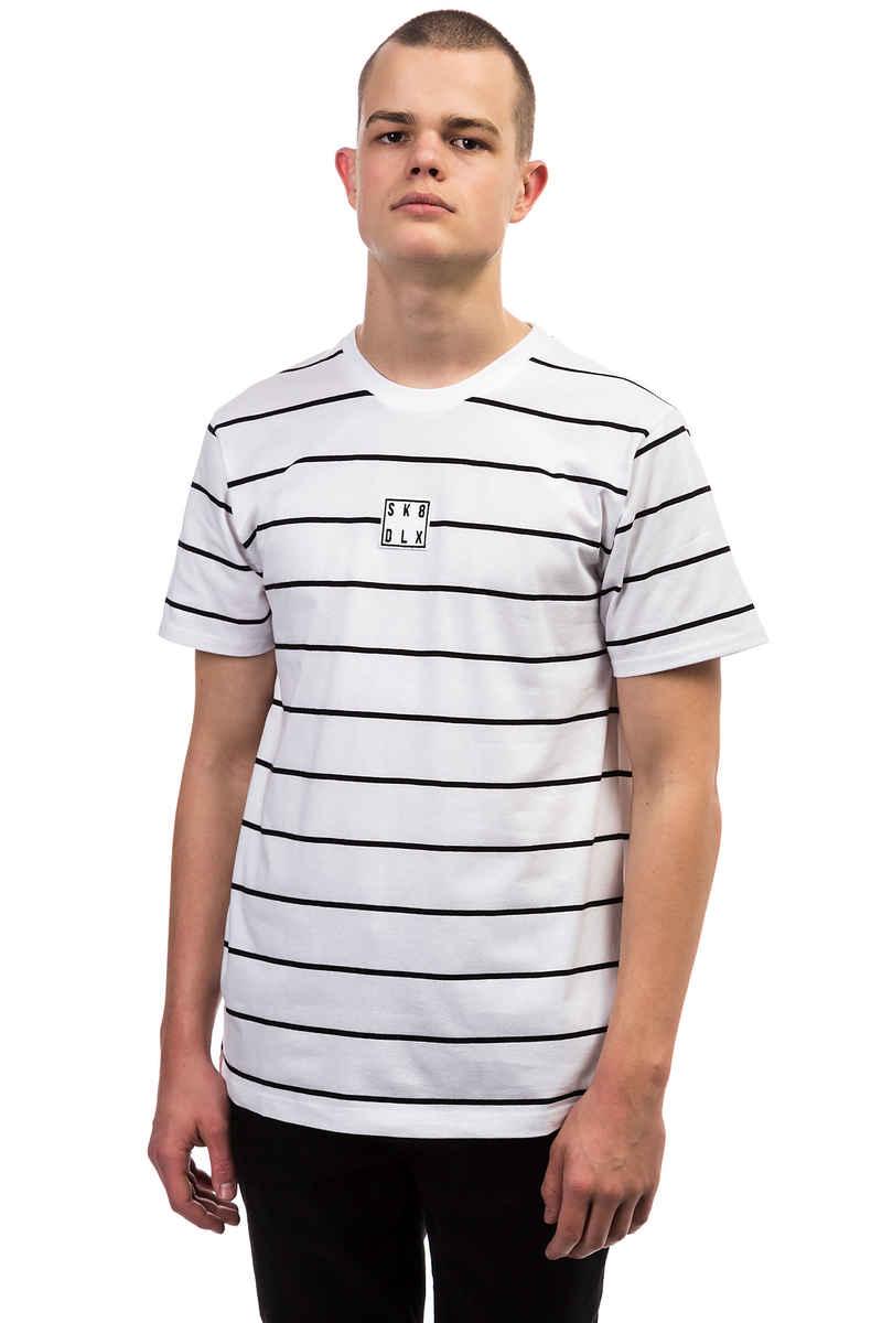 SK8DLX Stripes T-Shirt (white black)