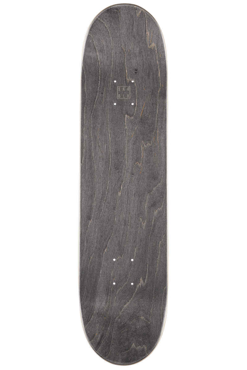 """SK8DLX Two Face Series 8.125"""" Deck (white grey)"""