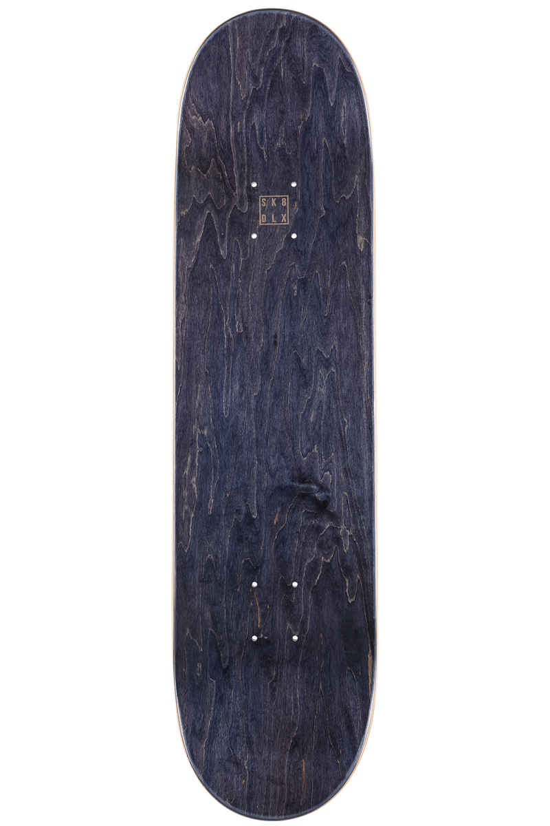 "SK8DLX Two Face Series 8.25"" Planche Skate (white blue)"