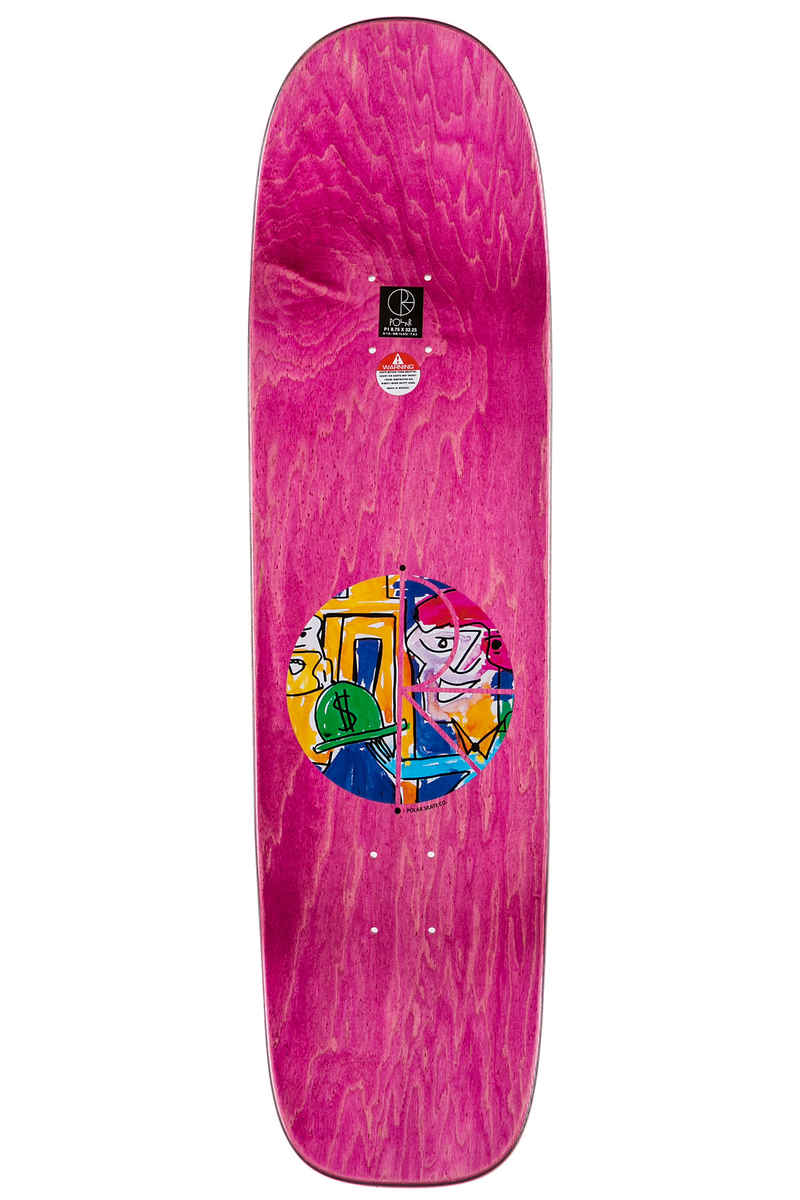 "Polar Skateboards Herrington Debacle 8.625"" Planche Skate"