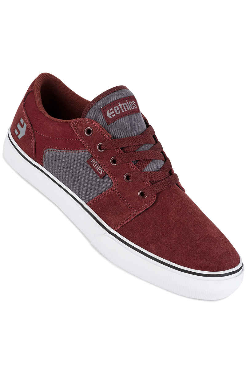 Etnies Barge LS Schoen (red grey)