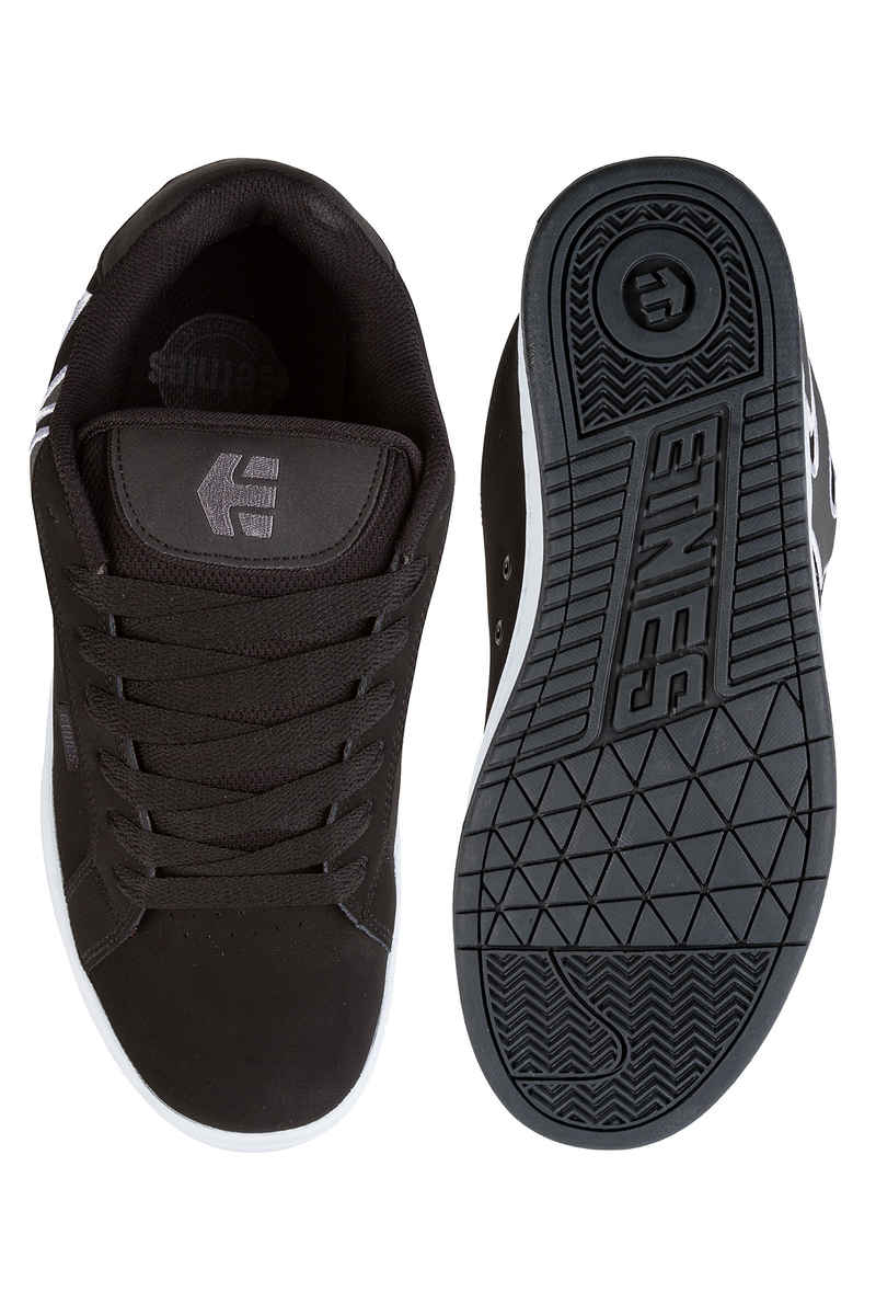 Etnies Fader Shoes (black dark grey silver)
