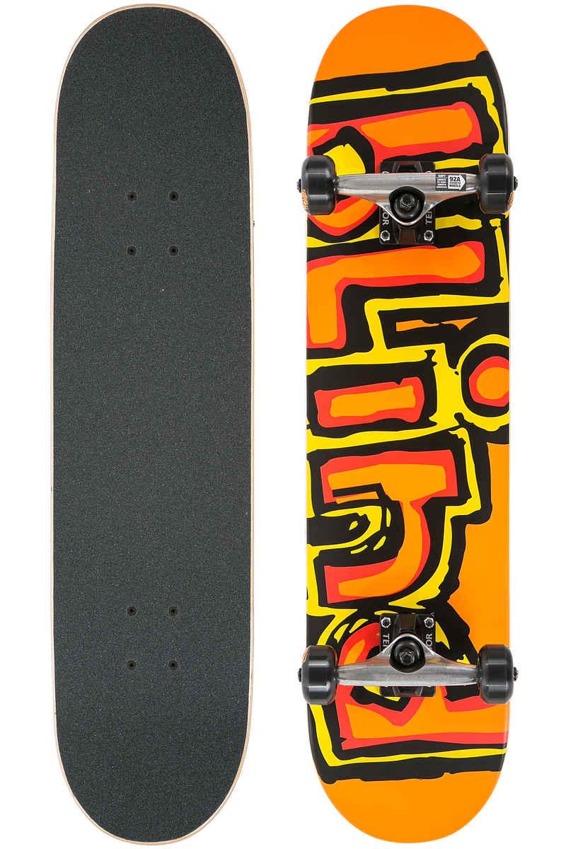 "Blind Matte OG Logo 7.875"" Komplettboard (orange)"