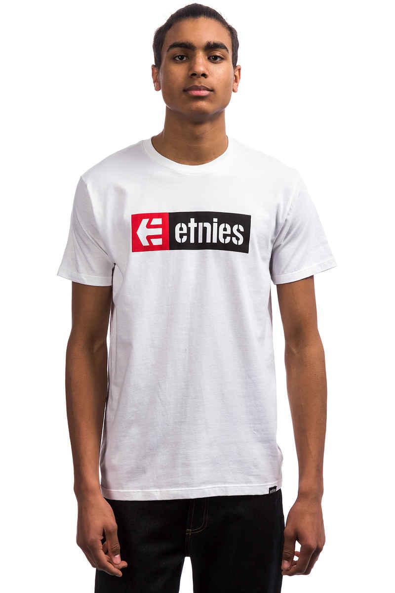 Etnies New Box T-Shirt (white)
