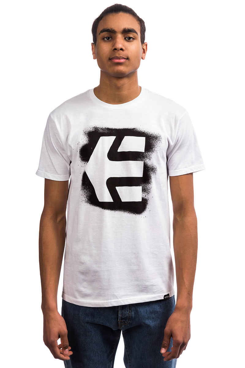 Etnies Icon Sprayed T-Shirt (white)