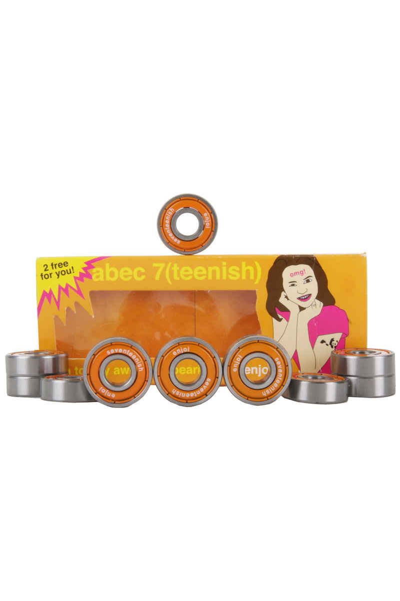 Enjoi Teenish ABEC7 Bearings (orange)