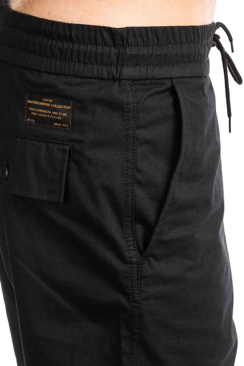 Levi's Skate Easy Shorts (black ripstop)