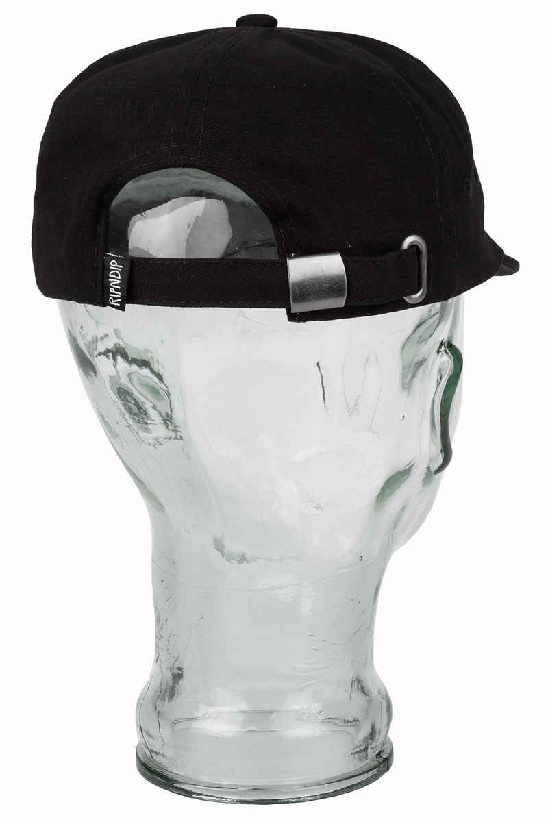 RIPNDIP Hugger 6 Panel Cap (black)