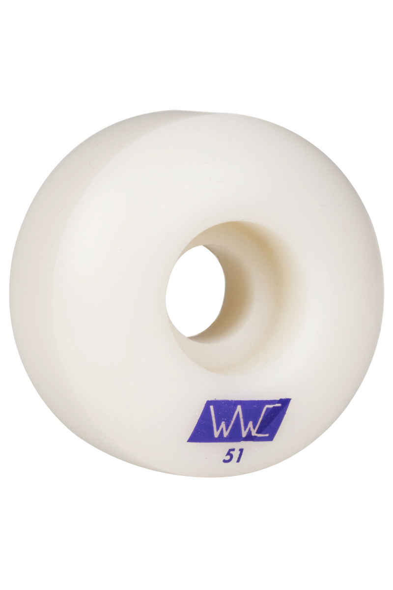 Wayward Silvas Solid State Round Wheels (white grape) 51mm 101A 4 Pack