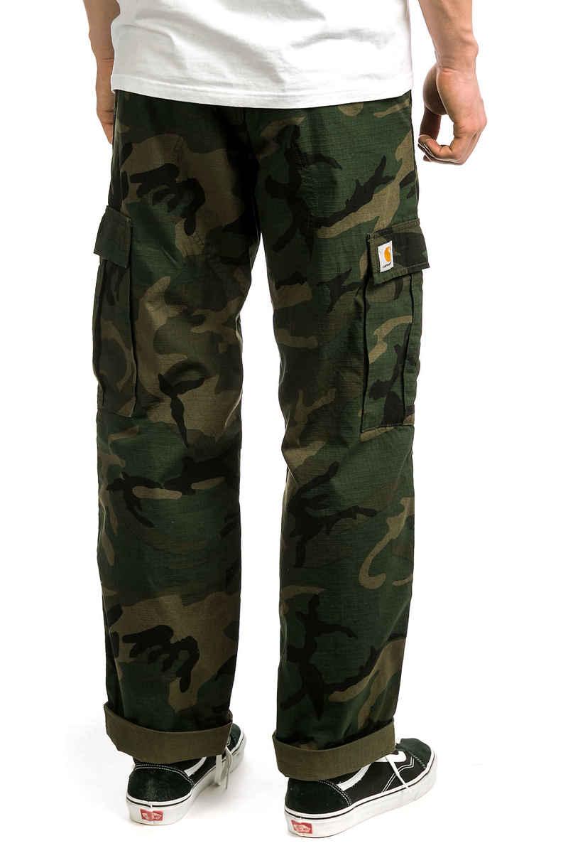 Carhartt WIP Regular Cargo Pant Columbia Hose (camo combat green rinsed)