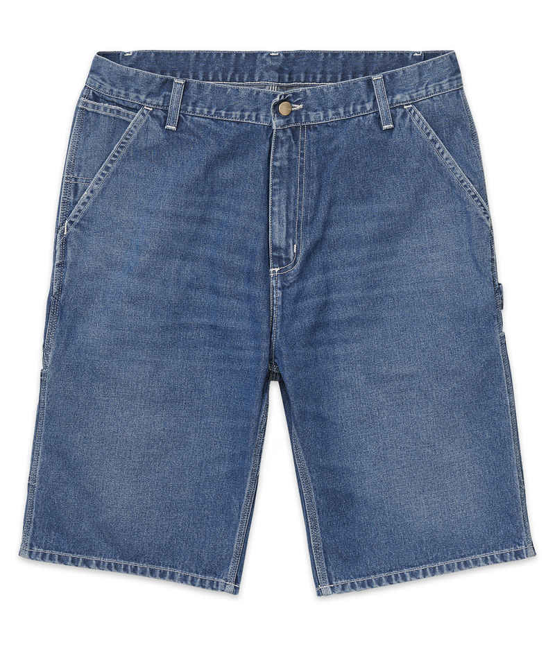 Carhartt WIP Ruck Single Knee Norco Shorts (blue stone washed)