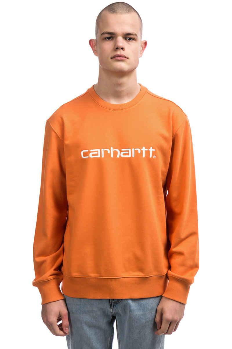 Carhartt WIP Basic Sweatshirt (jaffa wax)