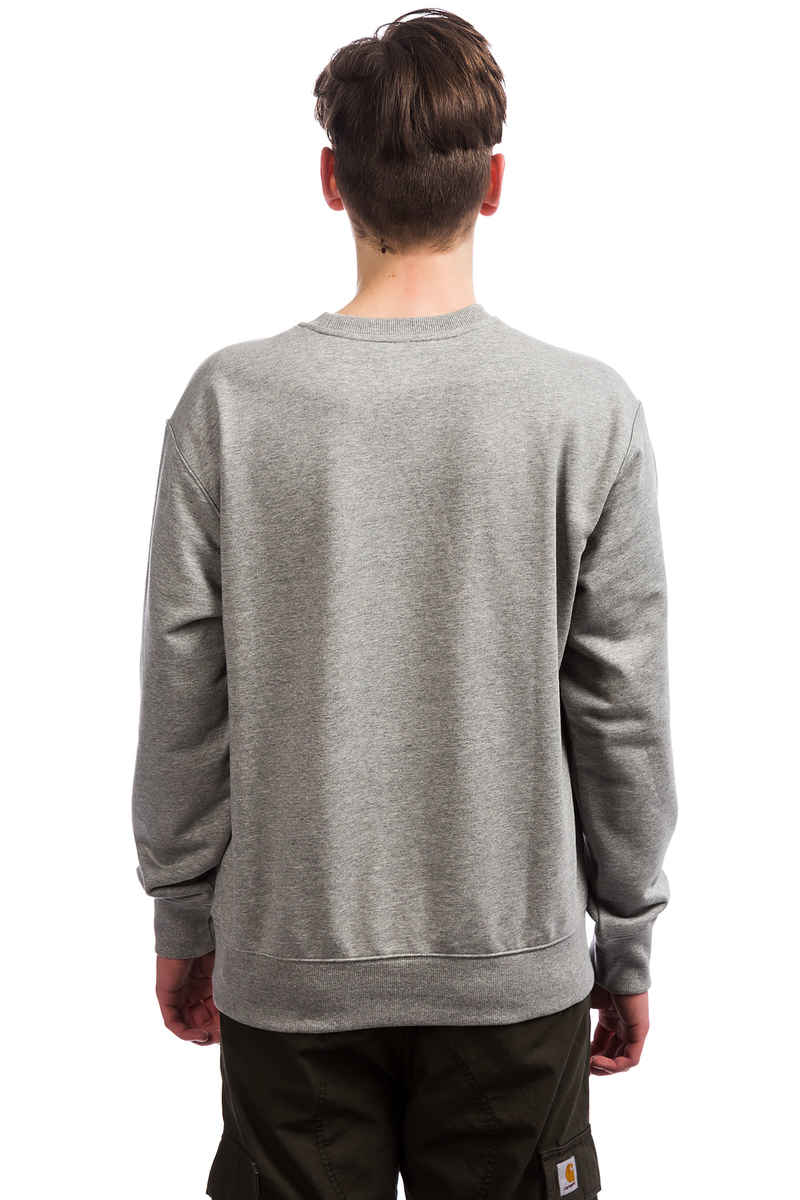 Carhartt WIP Basic Sweatshirt (grey heather wax)