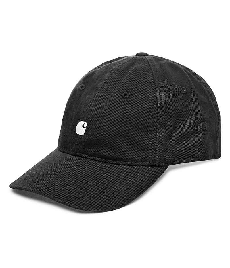 Carhartt WIP Madison Logo 6 Panel Cap (black white)