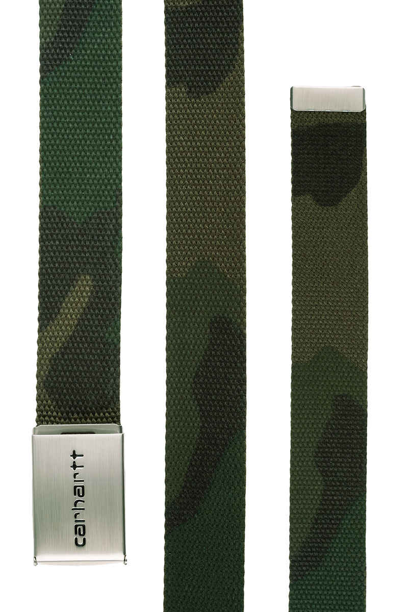 Carhartt WIP Clip Chrome Belt (camo combat green)