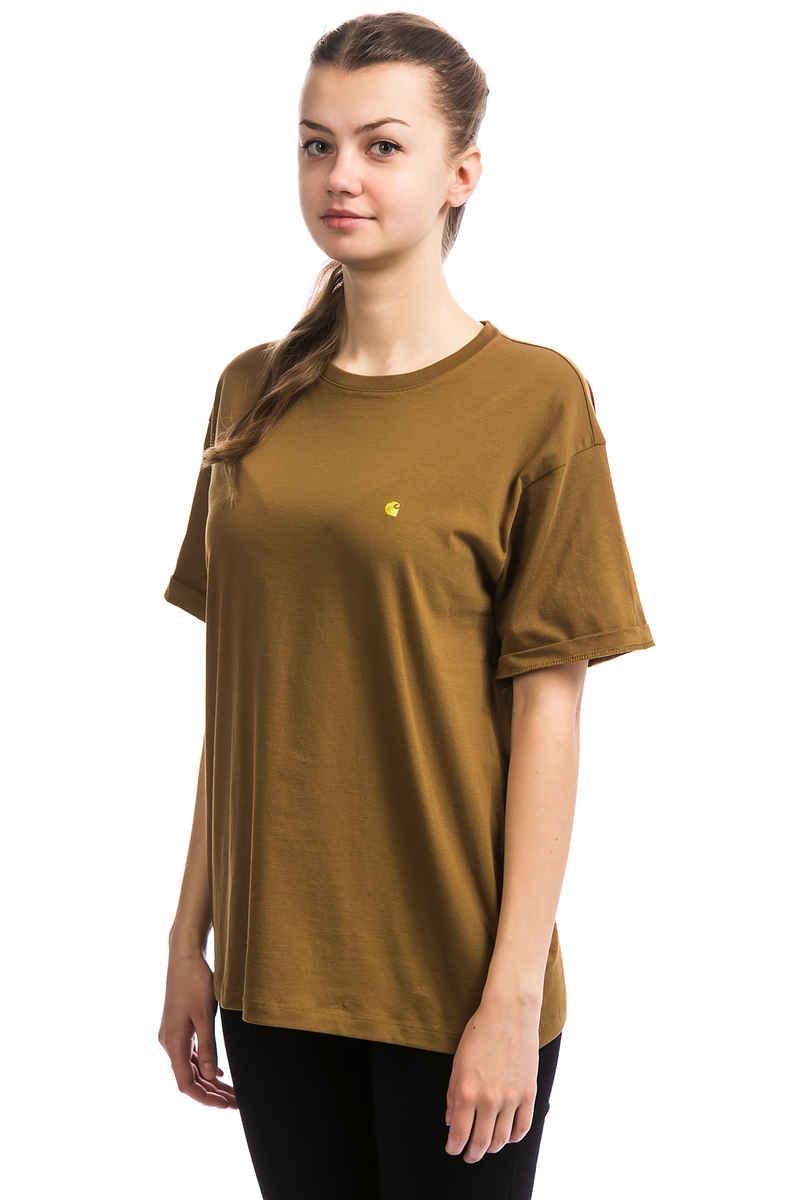 Carhartt WIP W' Chase T-Shirt women (hamilton brown)