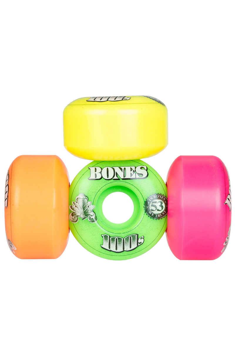 Bones 100's-OG #16-Party-Pack 53mm Rueda (multi) 4er Pack