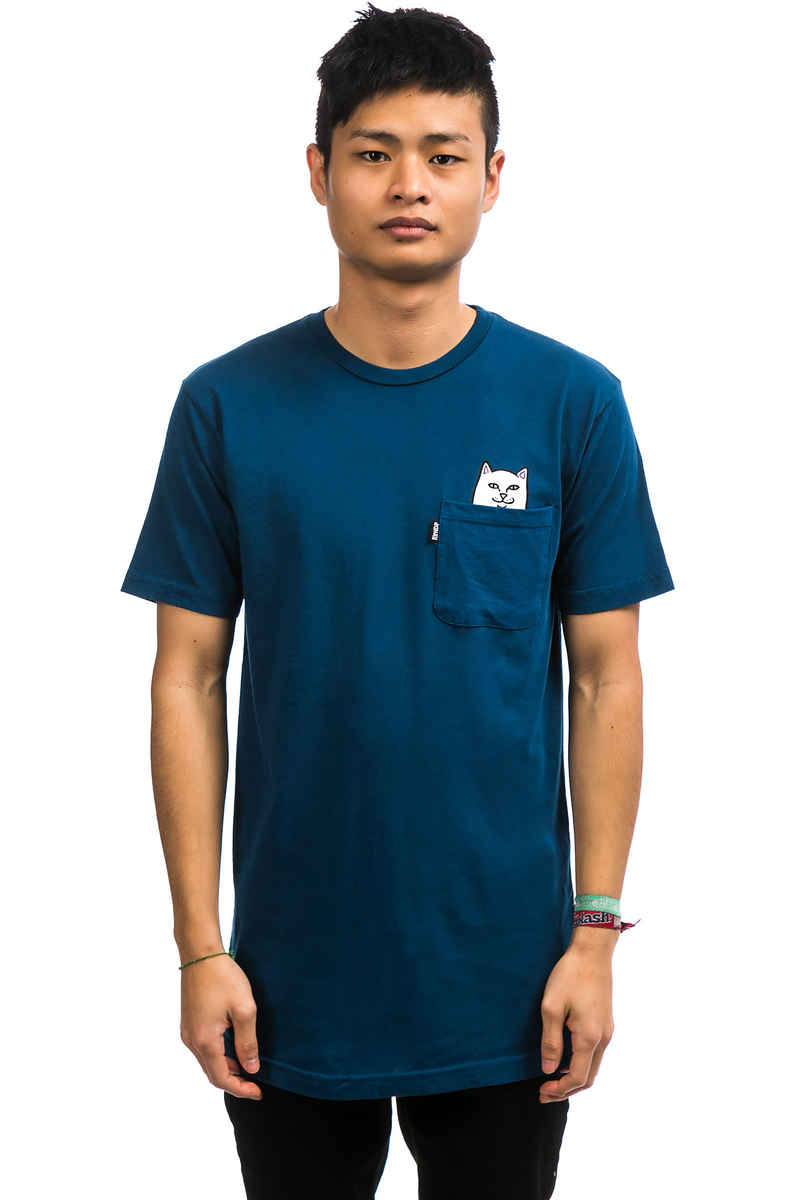RIPNDIP Lord Nermal Pocket T-Shirt (southern blue)