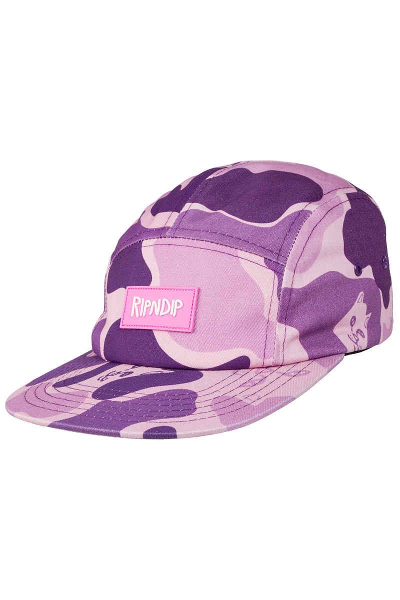 RIPNDIP Nerm Camper Cap (purple camo)