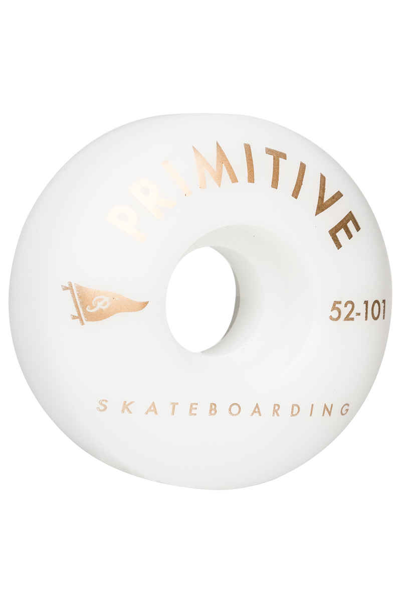 Primitive Team Pennant Arch 52mm Roue (white) 4 Pack