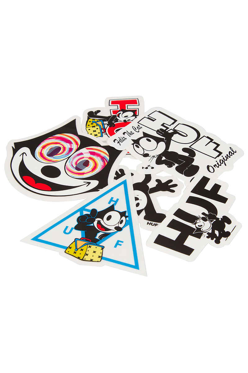 HUF x Felix The Cat Pack Sticker (multi)