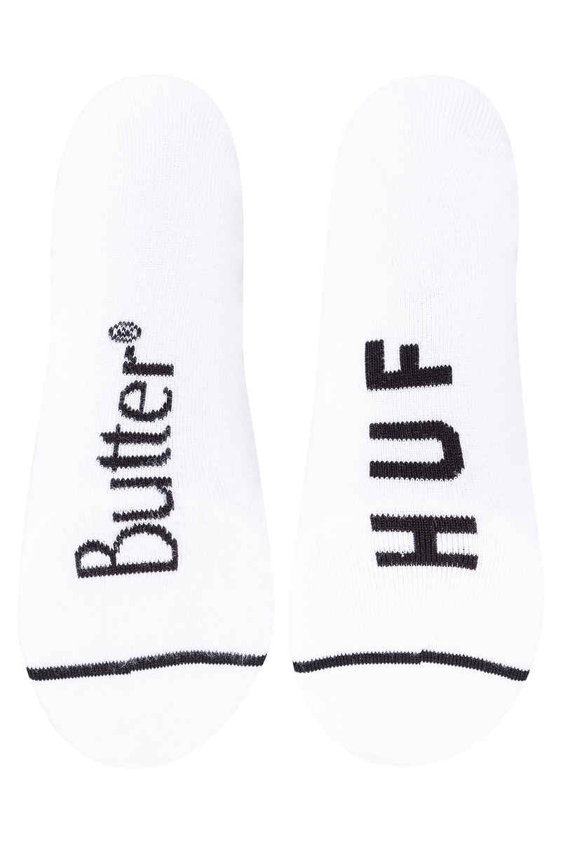 HUF x Butter Goods Rose Socks US 8-12 (white)