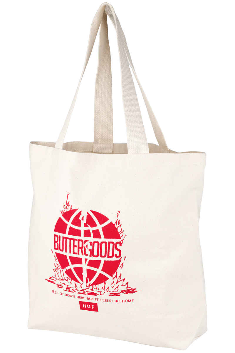 HUF x Butter Goods Feels Like Home Tote Sac (natural)
