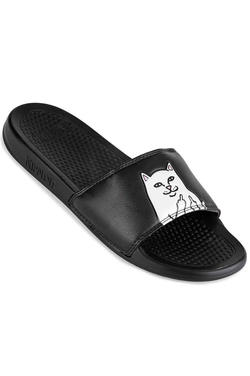 RIPNDIP Lord Nermal Slides Chanclas (black)