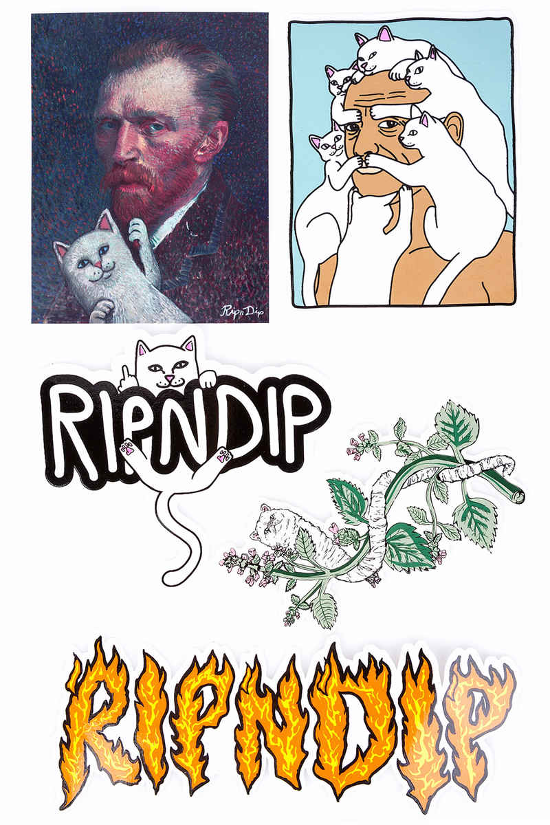 RIPNDIP Pack #2 Sticker