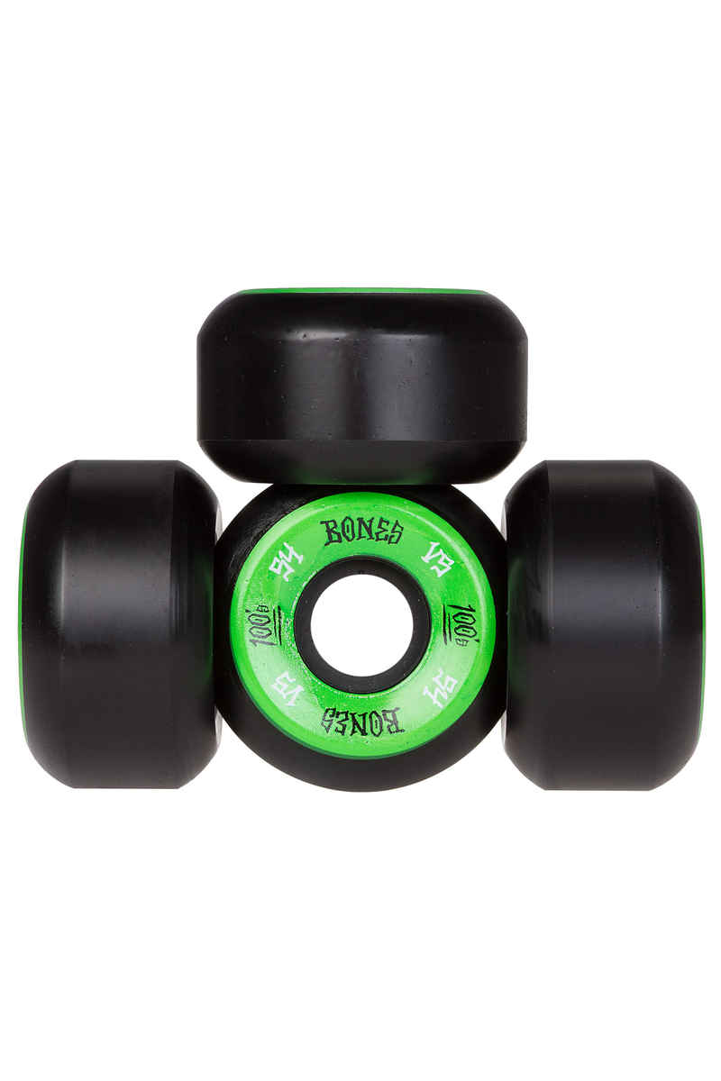 Bones 100's-OG #1 V5 Wiel (black green) 54mm 100A 4 Pack
