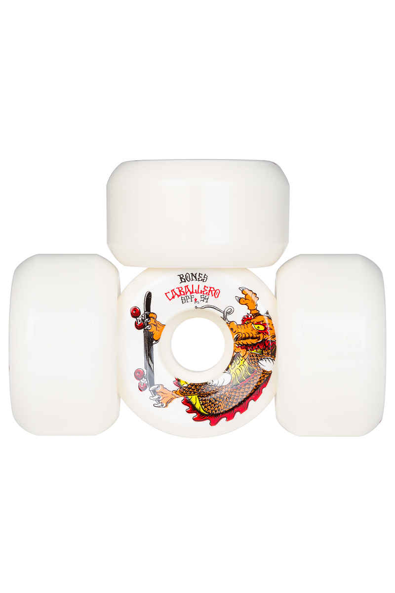 Bones SPF Caballero Dragon P5 Wheels (white) 54mm 104A 4 Pack