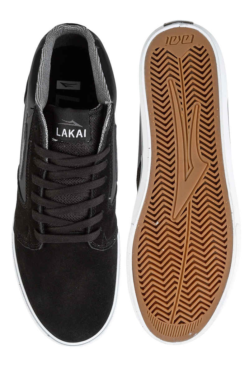 Lakai Fura High WT Suede Chaussure (black grey)