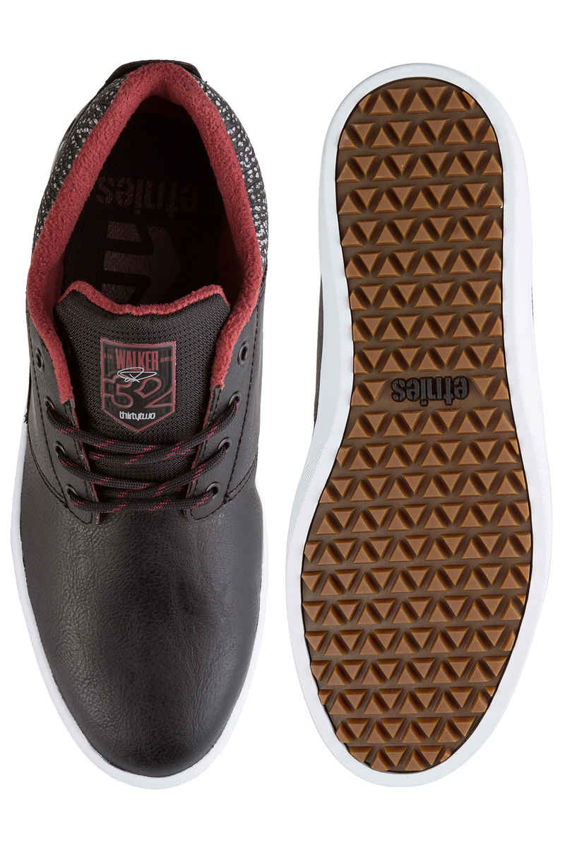 Etnies x ThirtyTwo Jameson Mid Schuh (black grey red)