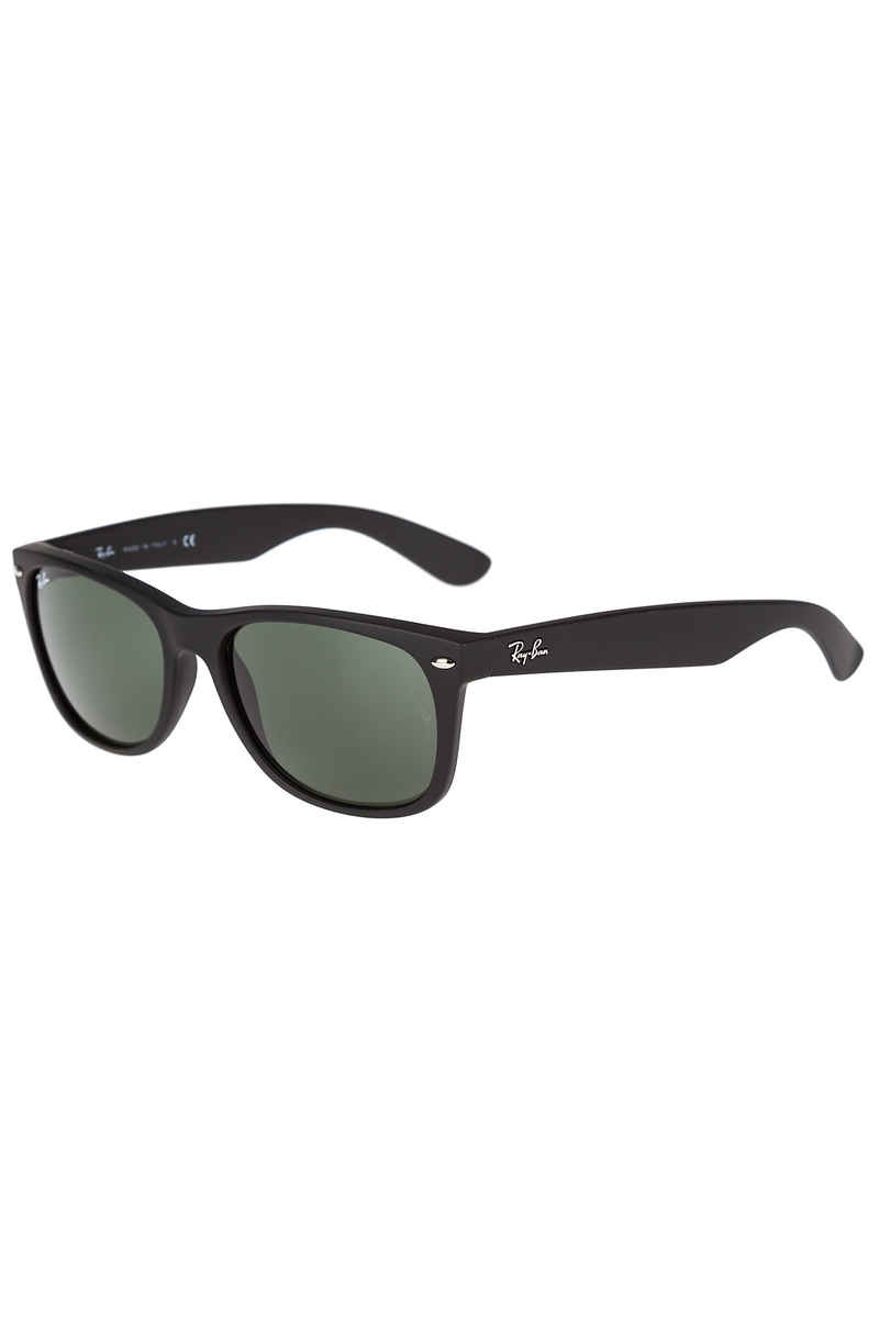 Ray-Ban New Wayfarer Sonnenbrille 58mm (black rubber green)