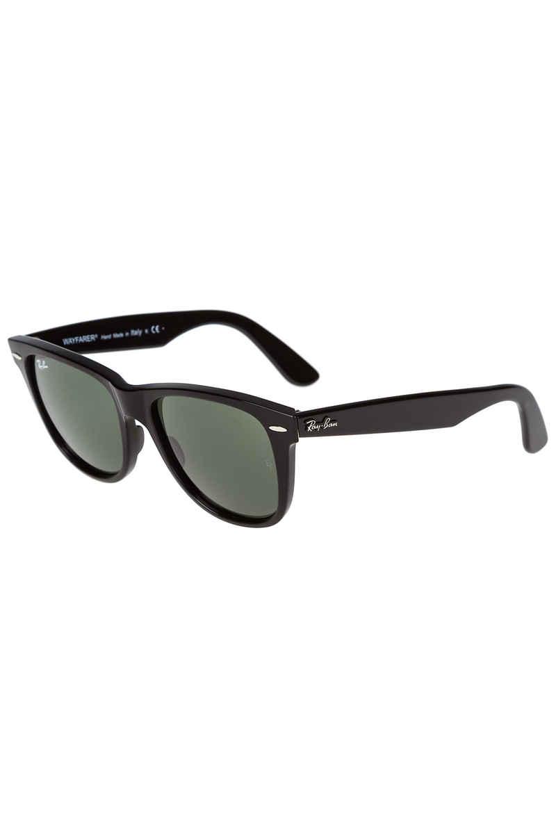 Ray-Ban Justin Wayfarer Lunettes de Soleil - Noir (Black/Green) - 54 mm 6ieNuNtB7