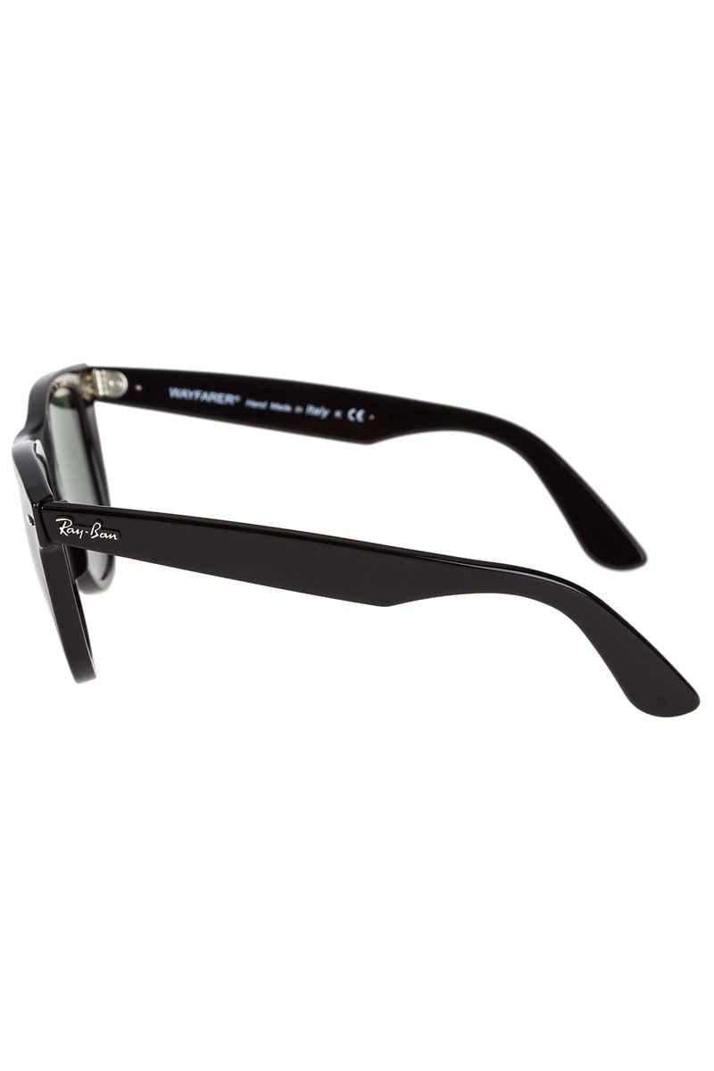 Ray-Ban Wayfarer Sonnenbrille 54mm (black crystal green)