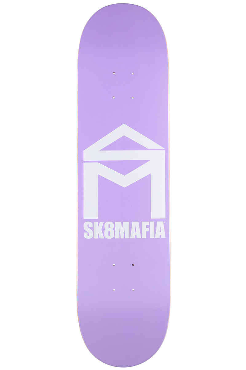 "Sk8Mafia House Logo 8"" Deck (pastel purple)"