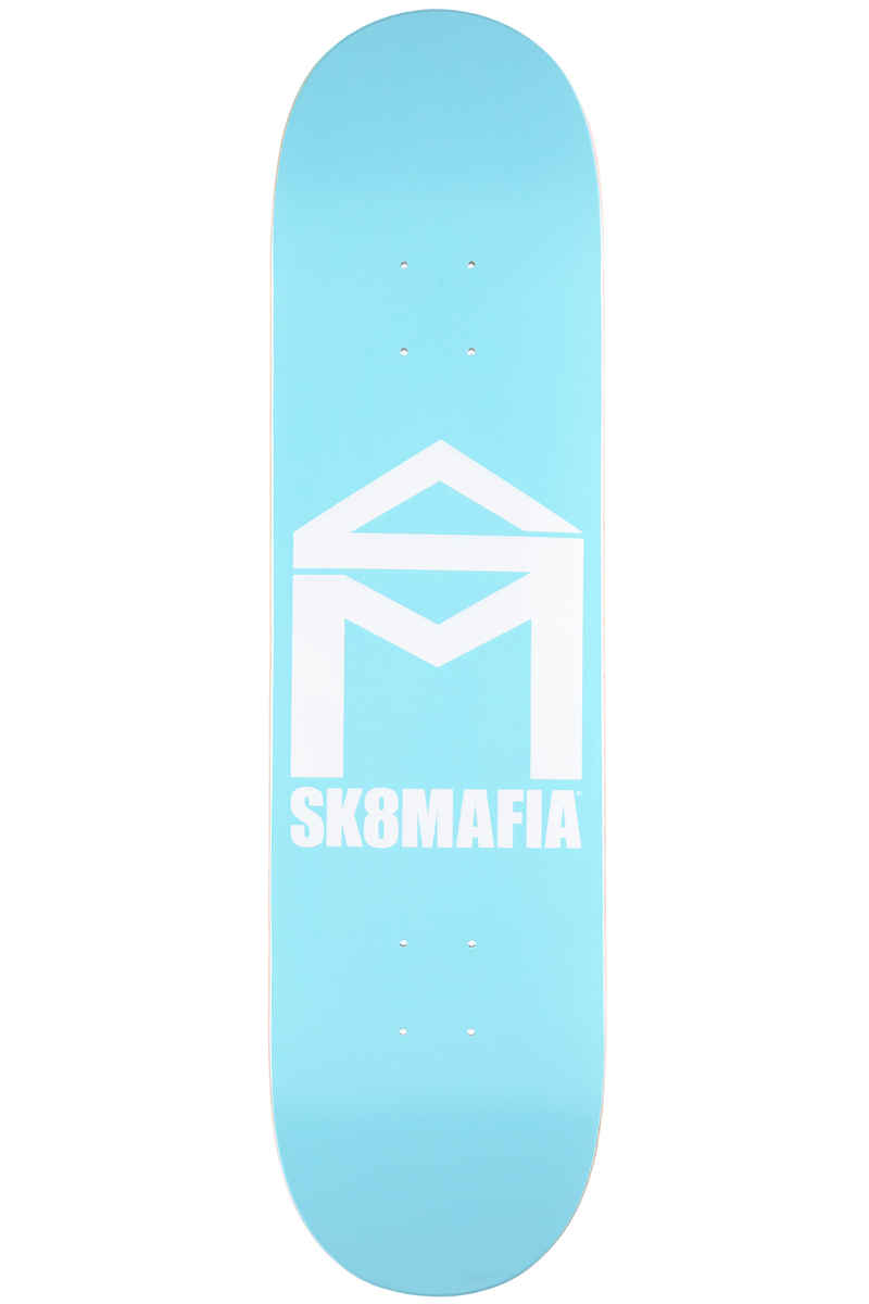 "Sk8Mafia House Logo 8.1"" Tabla (pastel blue)"