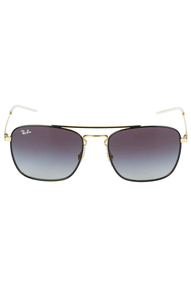 Ray-Ban RB 3588 Sonnenbrille 55mm (gold on top black grey)