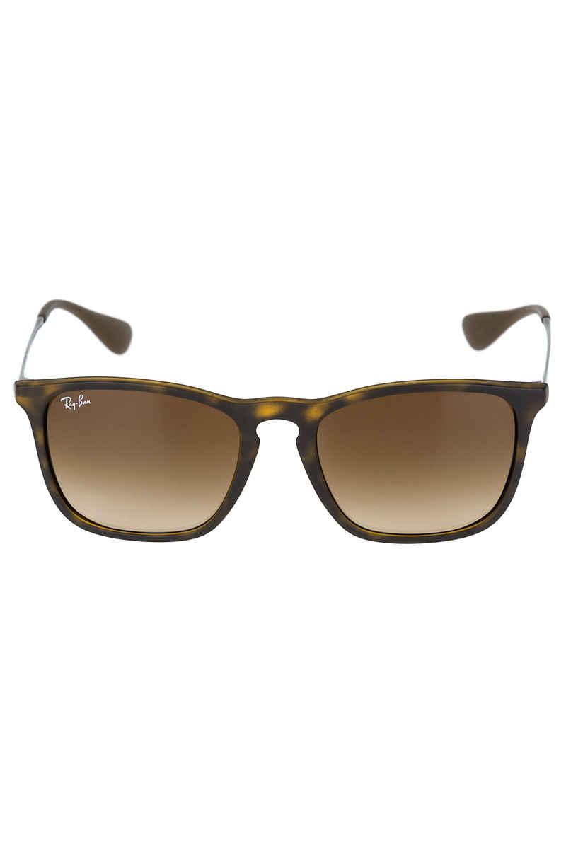 Ray-Ban Chris Gafas de sol 54mm (rubber havana brown gradient)