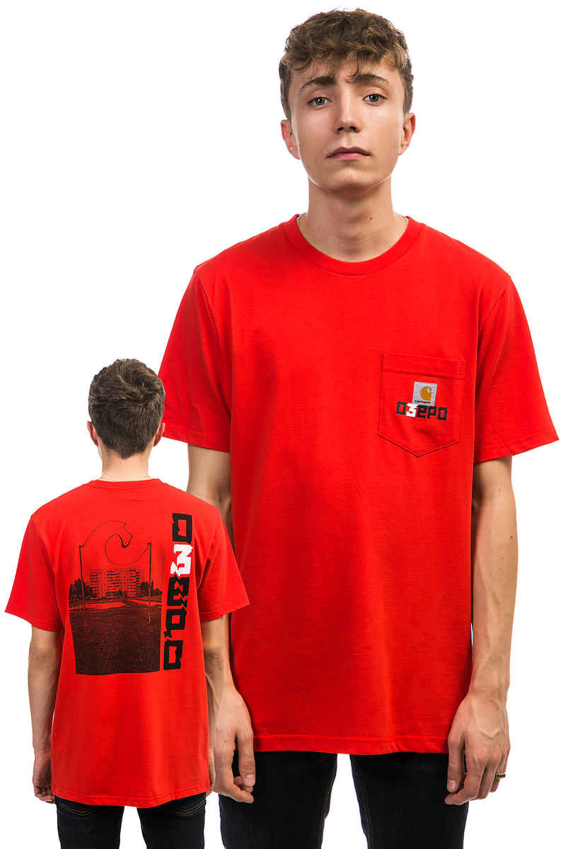 Carhartt WIP x O3EPO Block T-Shirt (red)