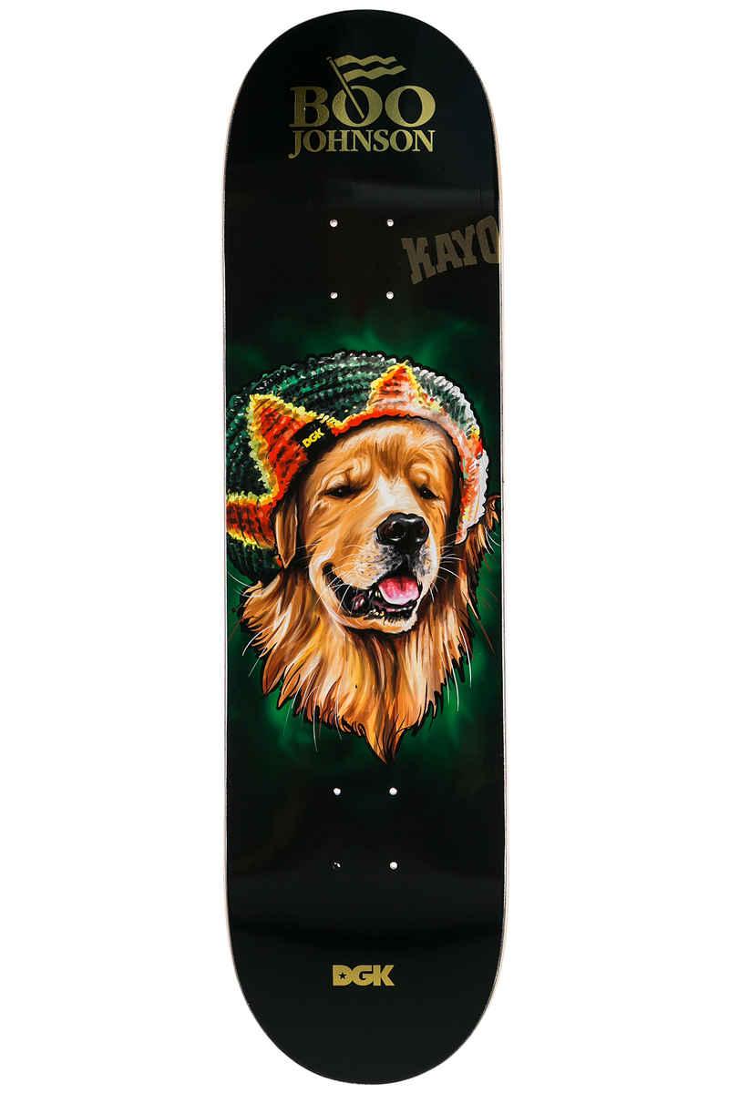 """DGK Skateboards Johnson Spirit Animal 8.25"""" Deck (black)"""