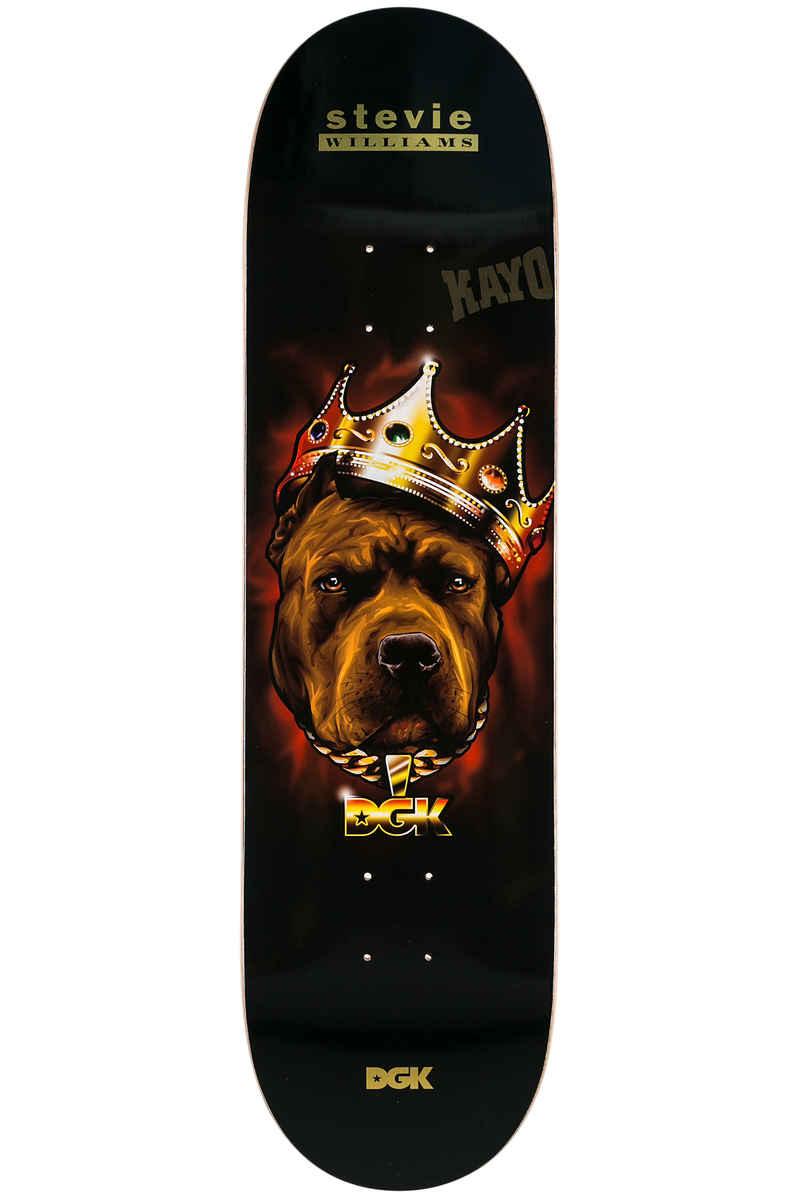 "DGK Skateboards Williams Spirit Animal 8.38"" Deck (black)"