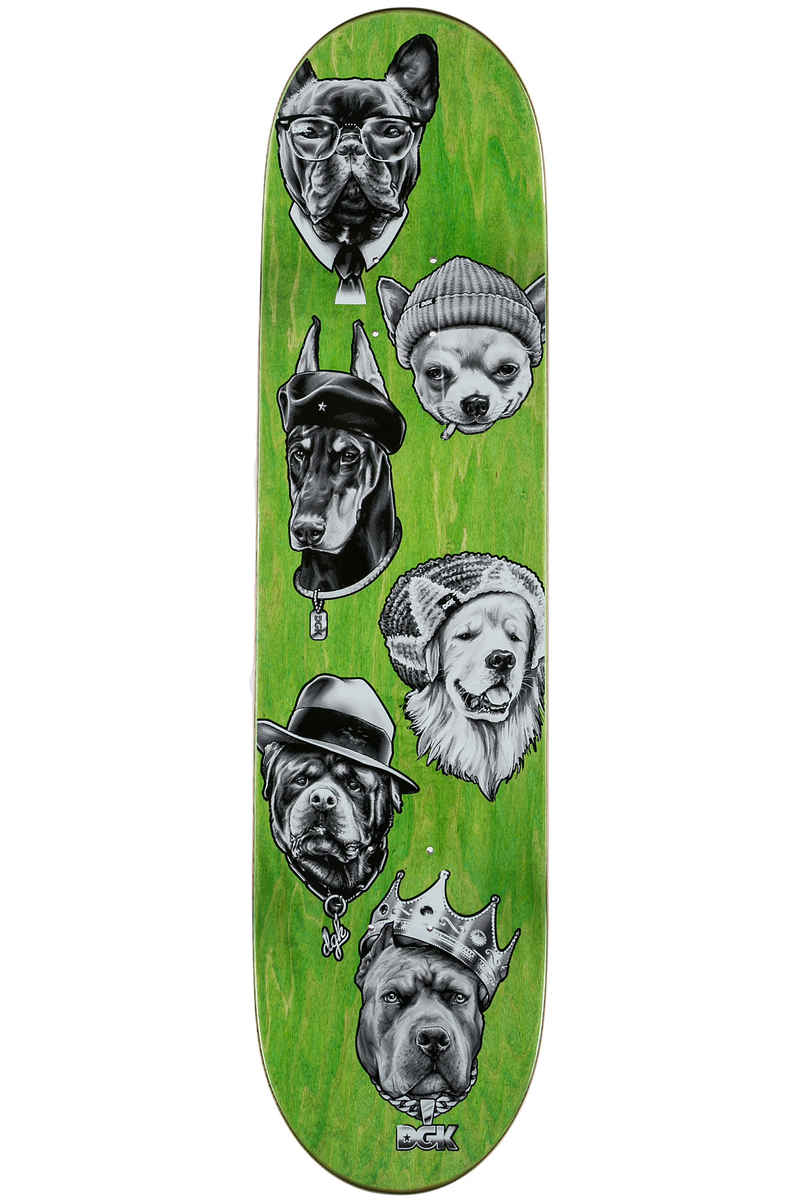 "DGK Skateboards Marquise Spirit Animal 8.125"" Deck (black)"