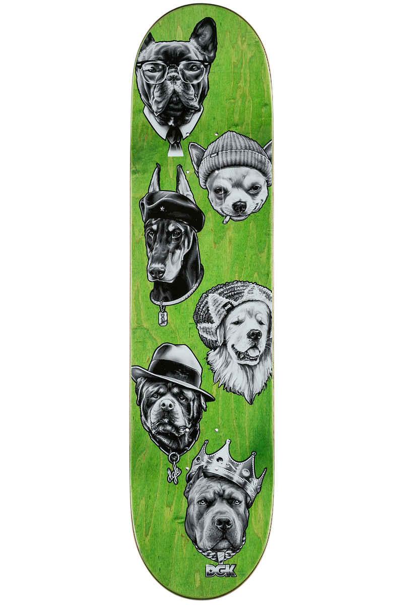 "DGK Skateboards Vaughn Spirit Animal 8"" Deck (black)"