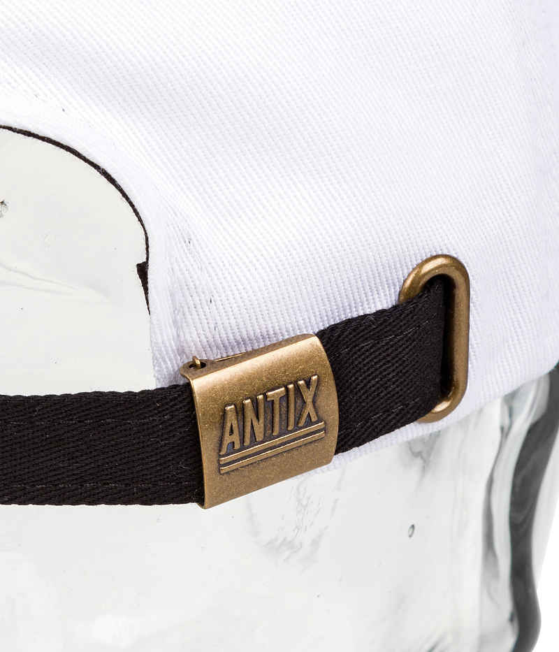 Antix Vaux 6 Panel Cap (white black)