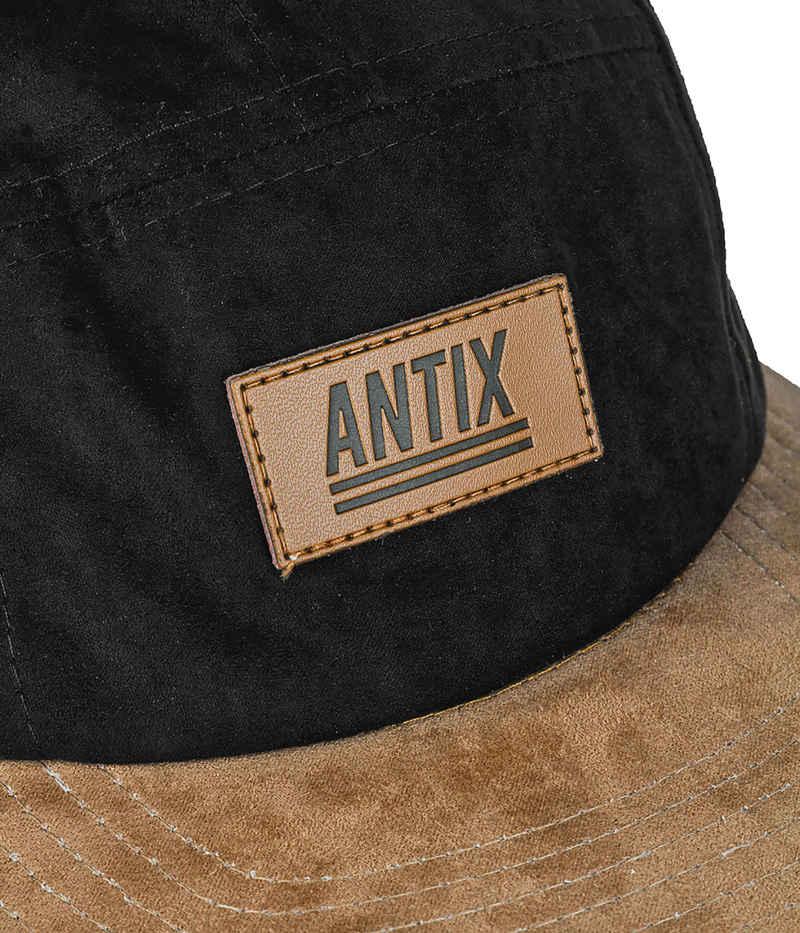 Antix Volur 5 Panel Cap  (black cashew)