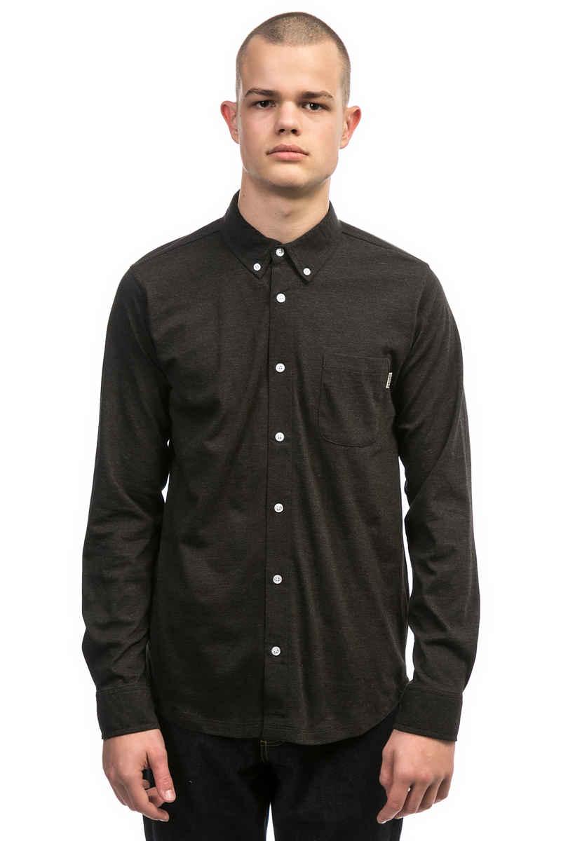 Wemoto Shaw Shirt (black melange 2)