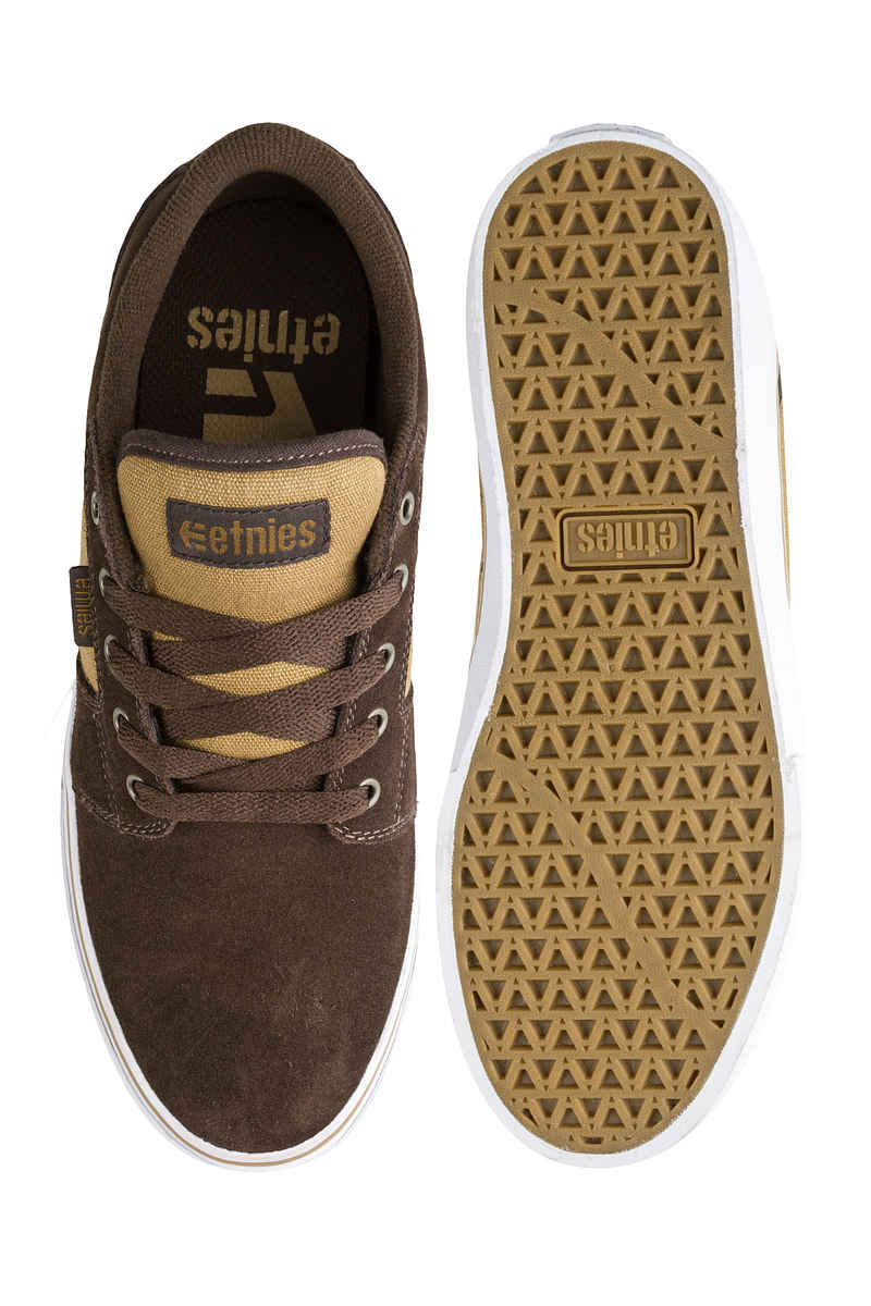 Etnies Barge LS Shoes (brown tan)