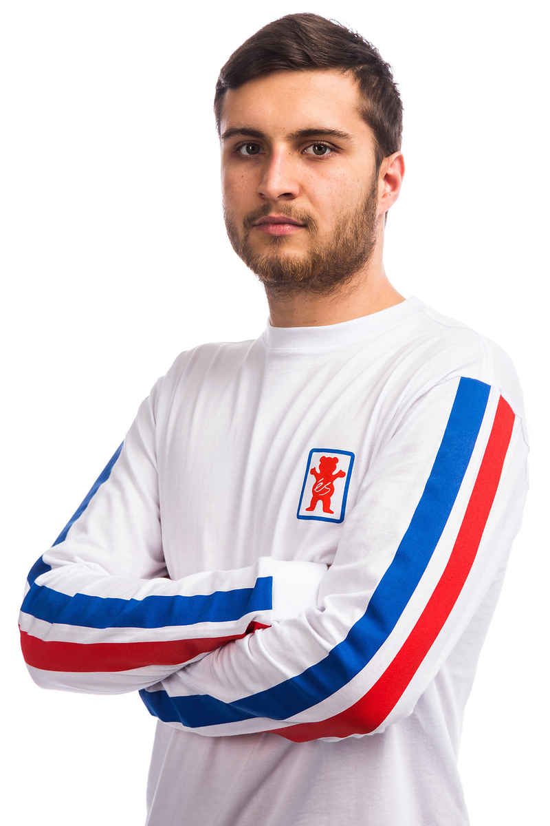 éS x Grizzly Raquet Longsleeve (white)